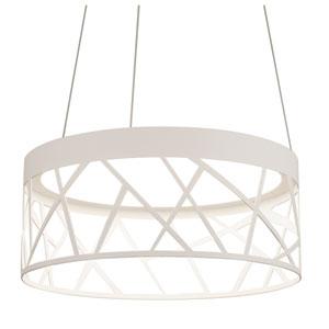 Boon White 20-Inch LED Pendant