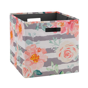 Ellis Pink Storage Bin, Pack of 2