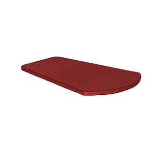Burgundy Arm Table