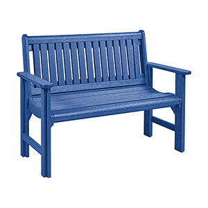 Generations Garden Bench-Blue