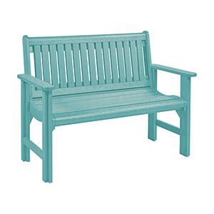 Turquoise Generation Garden Bench