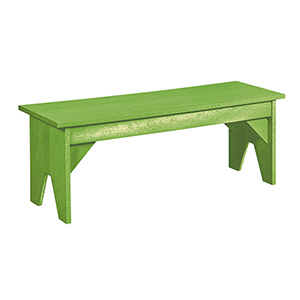 Generations Lifestyle Outdoor Bench-Kiwi Lime