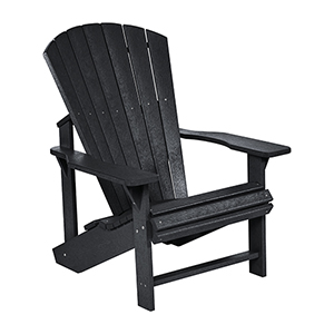 Generations Adirondack Chair-Black