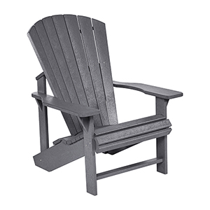 Generations Adirondack Chair-Slate Grey
