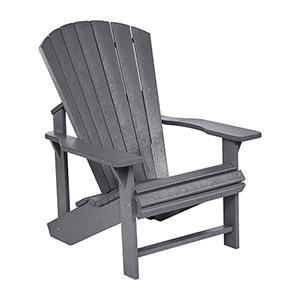 Generations Adirondack Chair-Slate Grey