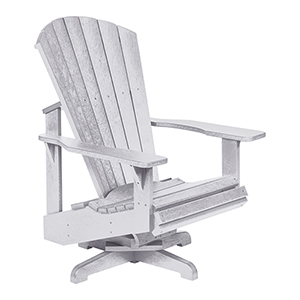 Generation White Swivel Adirondack Chair