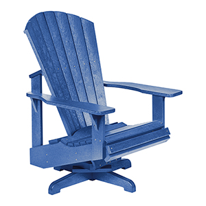 Generation Blue Swivel Adirondack Chair