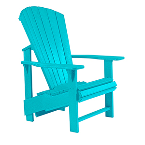 Generation Turquoise Upright Chair