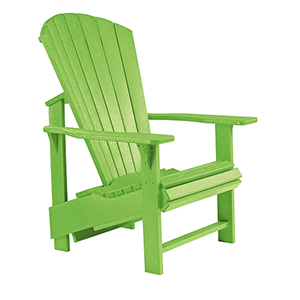 Generations Upright Adirondack Chair-Kiwi Lime