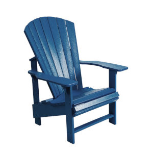 Generation Navy Patio Upright Chair