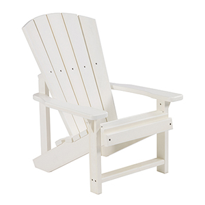 Generations Kids Adirondack Chair-White