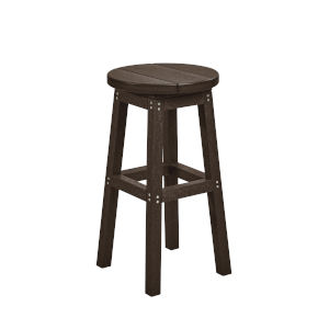 Generation Chocolate Patio Counter Stool