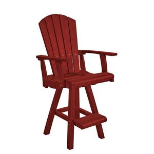 Generation Burgundy Pub Arm Chair