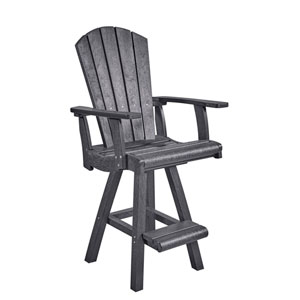 Generation Slate Grey Pub Arm Chair