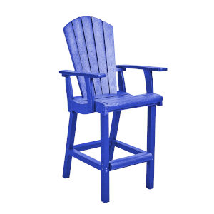 Generation Blue Patio Pub Arm Chair