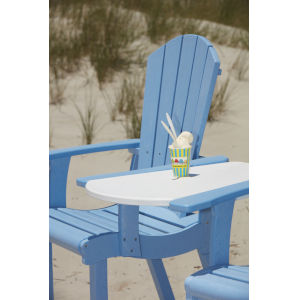Generation Beige Patio Pub Arm Chair