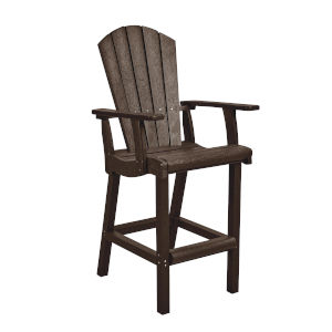Generation Chocolate Patio Pub Arm Chair