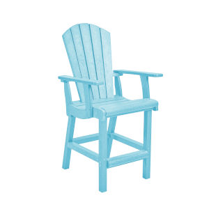Generation Aqua Patio Counter Height Arm Chair