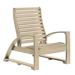 St. Tropez Beige Lounge Chair