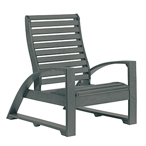 St. Tropez Slate Grey Lounge Chair