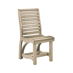 St. Tropez Beige Dining Side Chair