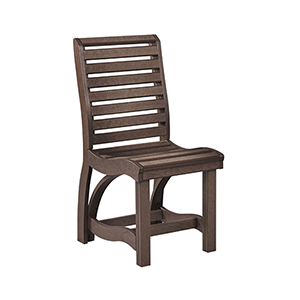 St Tropez Dining Side Chair -Chocolate