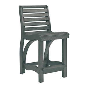 St. Tropez Slate Grey Counter Chair