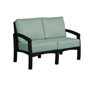 Bay Breeze Spa Loveseat with Cushions