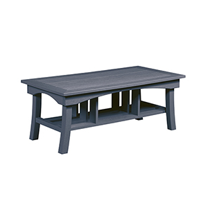 Slate Grey Bay Breeze  49-Inch Coffee Table