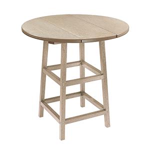 Generation Beige 32-Inch Round Table
