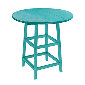 Generation Turquoise 32-Inch Round Table