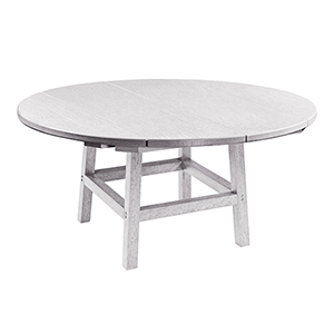Generation White 40-Inch Round Table Top with 17-Inch Cocktail Table Legs