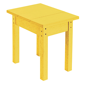 Generations Small Side Table-Yellow