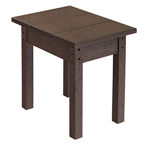 Generations Small Side Table-Chocolate