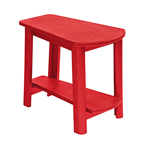 Generations Tapered Style Accent Table-Red