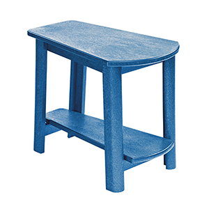 Generations Tapered Style Accent Table-Blue