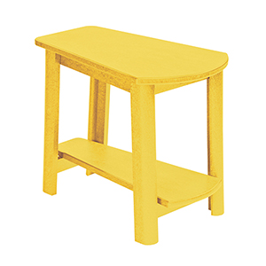 Generations Tapered Style Accent Table-Yellow