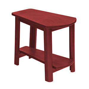 Burgundy Generation Addy Side Table