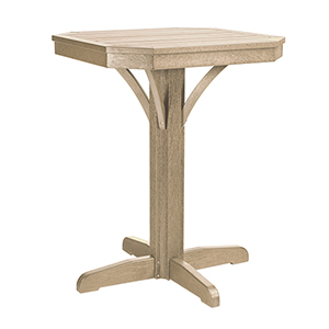 St. Tropez Beige 28-Inch Square Counter Table