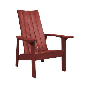 Capterra Casual Red Rock 31-Inch Flat Back Adirondack Chair
