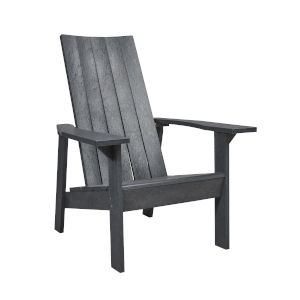 Capterra Casual Greystone  31-Inch Flat Back Adirondack Chair