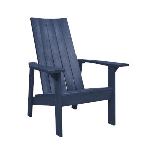 Capterra Casual Atlantic Navy 31-Inch Flat Back Adirondack Chair