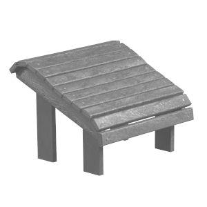Capterra Casual Driftwood Outdoor Premium Footstool