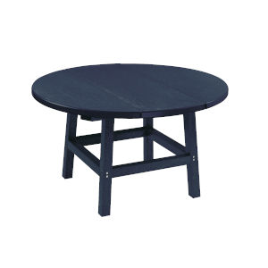 Capterra Casual Atlantic Navy Outdoor 32-Inch Round Table Top