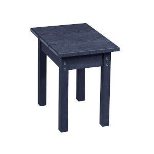 Capterra Casual Atlantic Navy Outdoor Small Rectangular Table