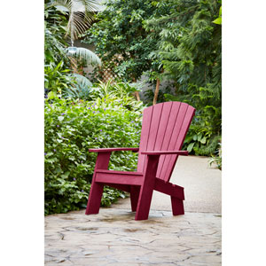 Bordeaux Adirondack Chair