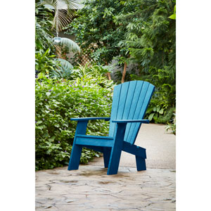 Cobalt Blue Adirondack Chair