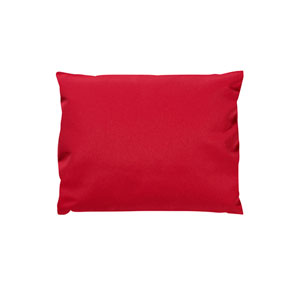 Generations Chair Headrest Cushion, Canvas Jockey Red
