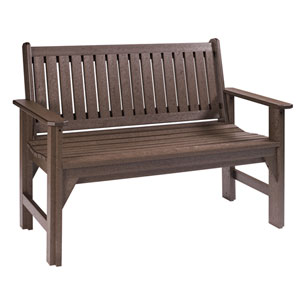 Generations Garden Bench-Chocolate