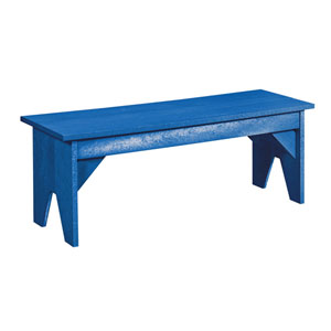 Generations Lifestyle Outdoor Bench-Blue